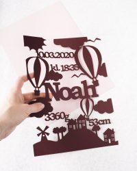 luftballon-foedselstavle-papirklip-haandtegnet