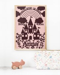 prinsesseslot-foedselstavle-papirklip